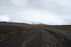 View of Mauna Kea's summit cones from the Mauna Kea Access Road. The road goes from paved to dirt. #KEA2009-7