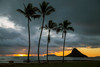 Sunrise at Chinaman's Hat ~Ku'uloa Beach Park, North Shore, O'ahu
