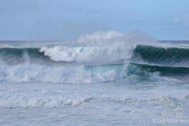 Triple Waves at Ehukai
