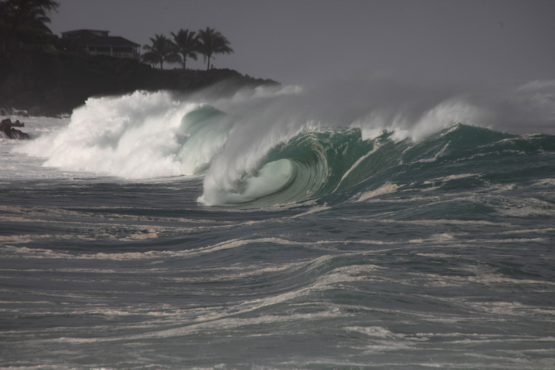Barrel at Waimea