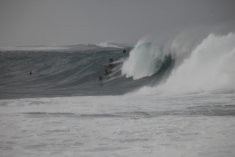 Big Wave Surfing at Waimea Bay