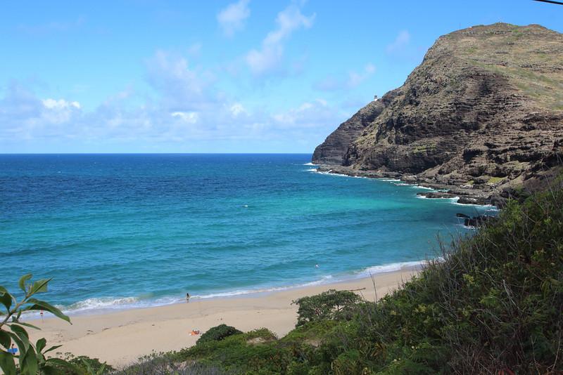 Makapu'u Beach and Lighthouse