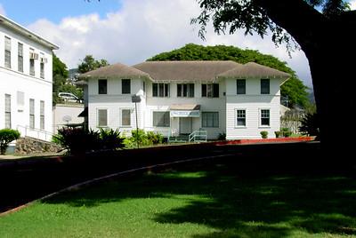The Aloha Medical Mission Palama clinic building.