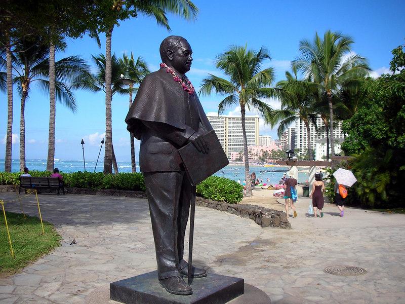 26. Waikiki Beach Scene.JPG