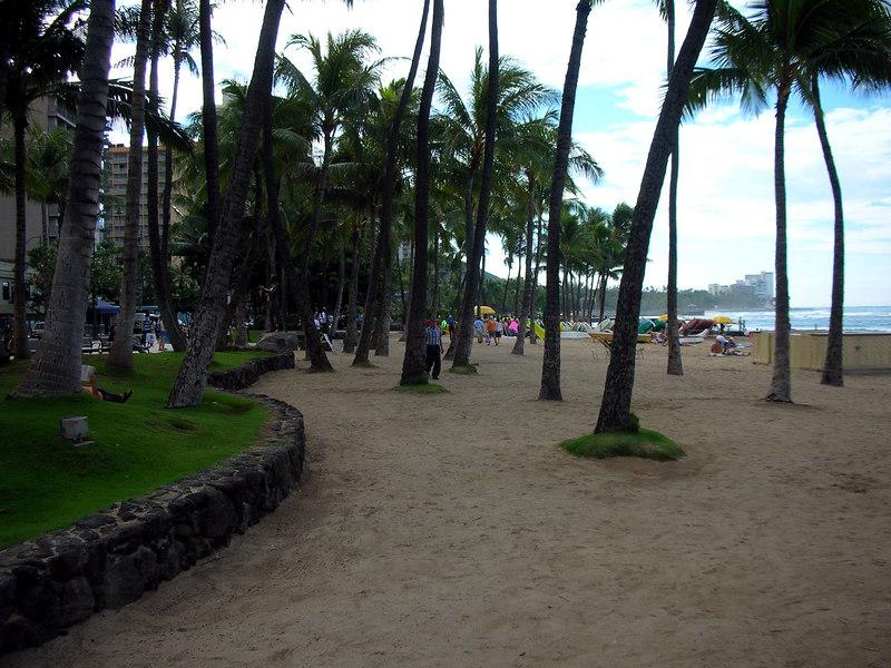 54.  Waikiki Beach Scene.JPG