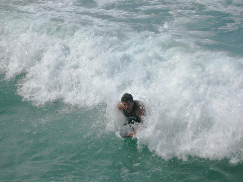 36.  Waikiki Beach Scene.JPG