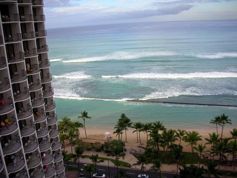 46.  Waikiki Beach Scene.JPG
