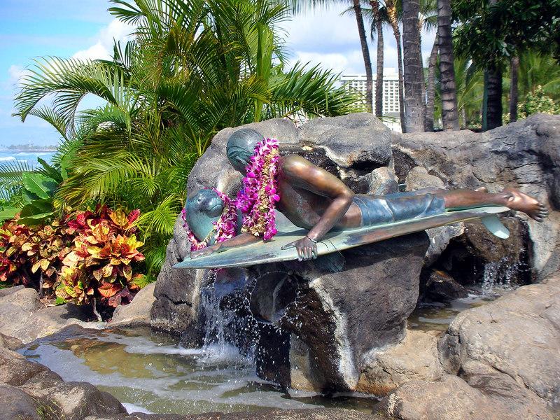 30.  Waikiki Beach Scene.JPG