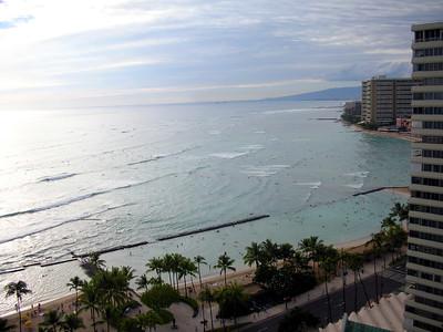 10  Waikiki Beach Scene