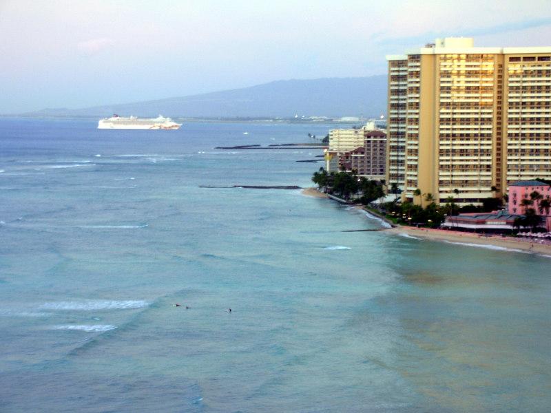 66.  NCL Pride of Hawaii Arriving Honolulu.JPG