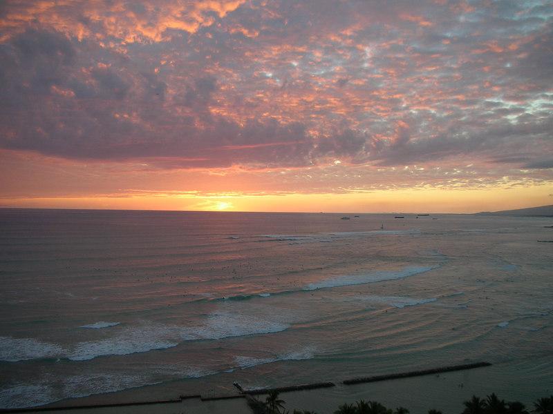 20. Waikiki Sunset.JPG