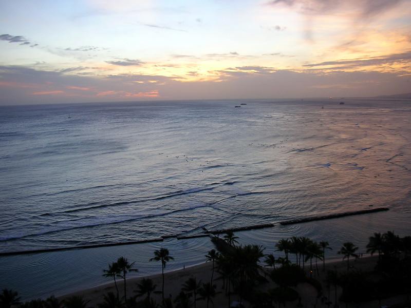84.  Waikiki Sunset.JPG