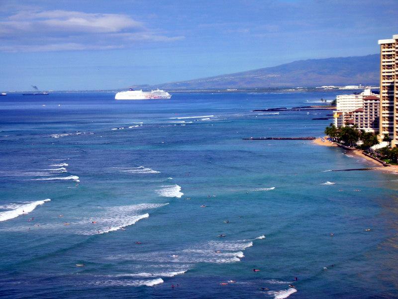 60.  NCL Pride of Aloha Arriving.JPG