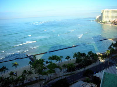 23  Morning in Waikiki