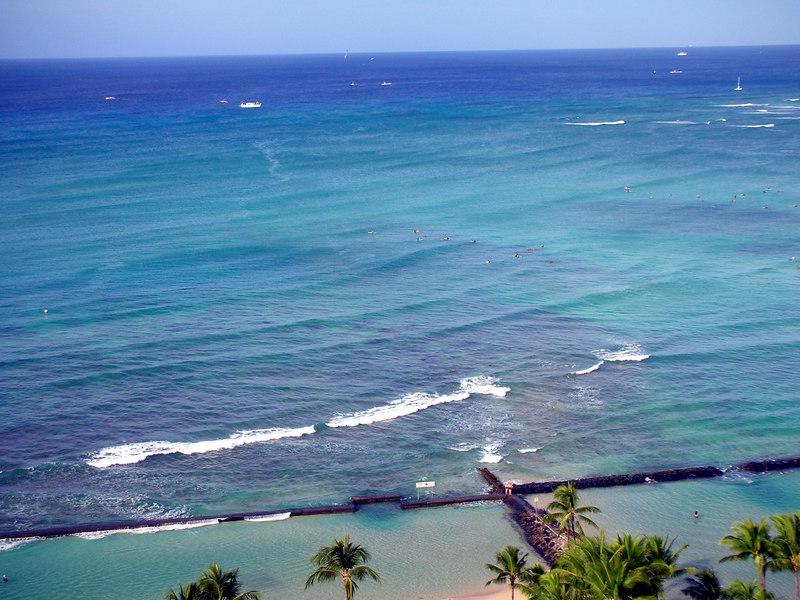 67. Waikiki Beach Scene.JPG