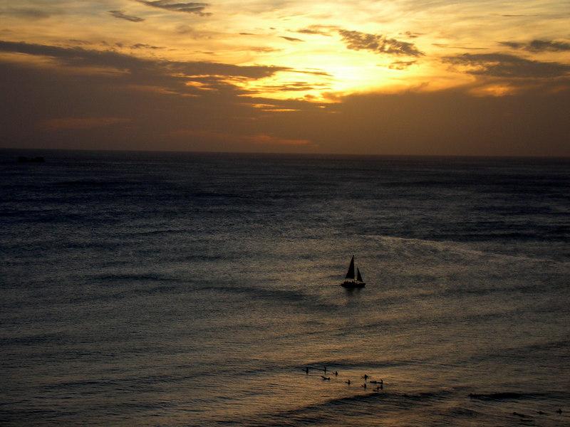 79.  Waikiki Sunset.JPG