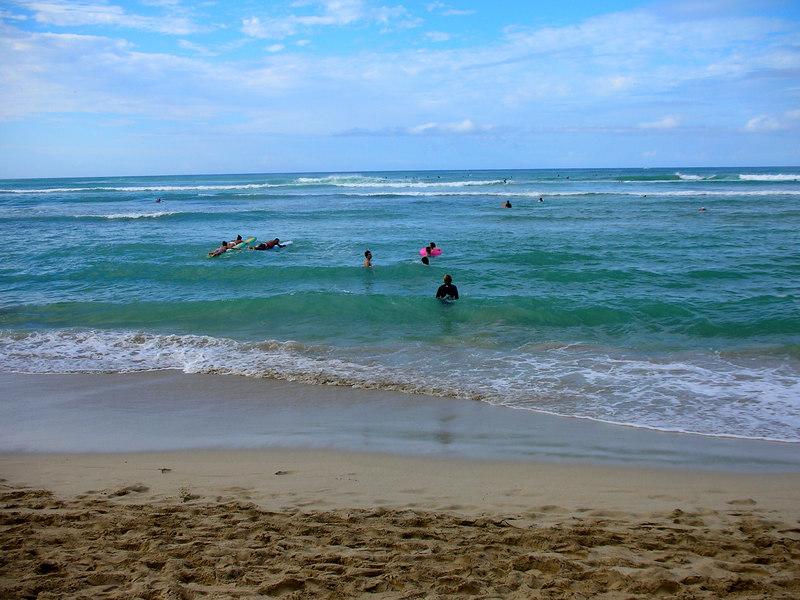 55.  Waikiki Beach Scene.JPG