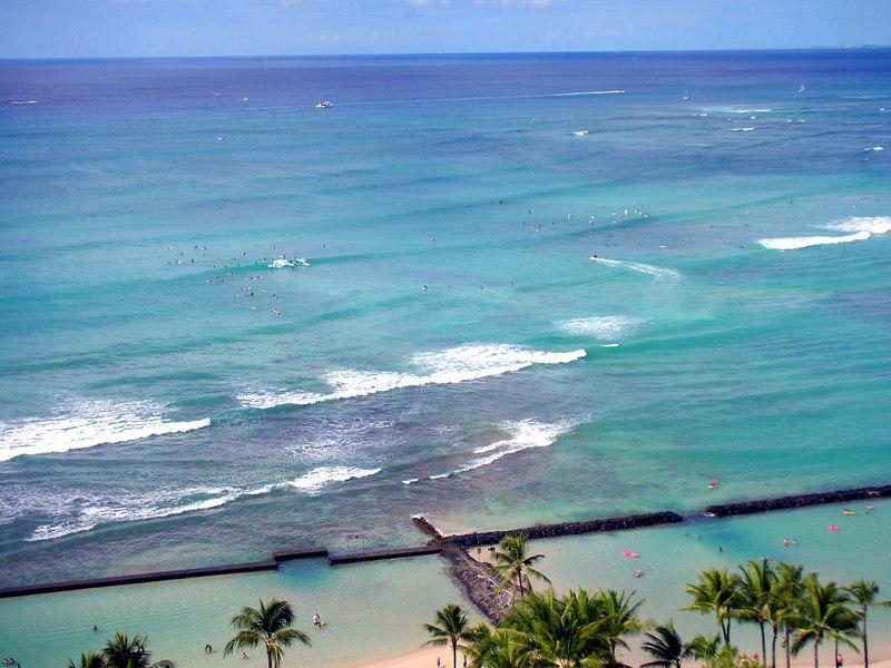 63. Waikiki Beach Scene.JPG