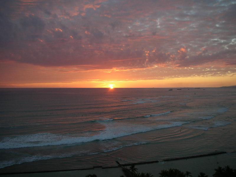 18. Waikiki Sunset.JPG