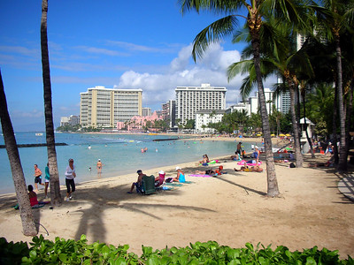 Arrival, Waikiki, and Marriott Resort