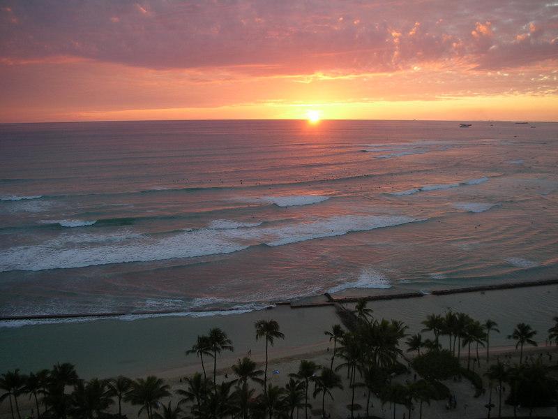 17. Waikiki Sunset.JPG