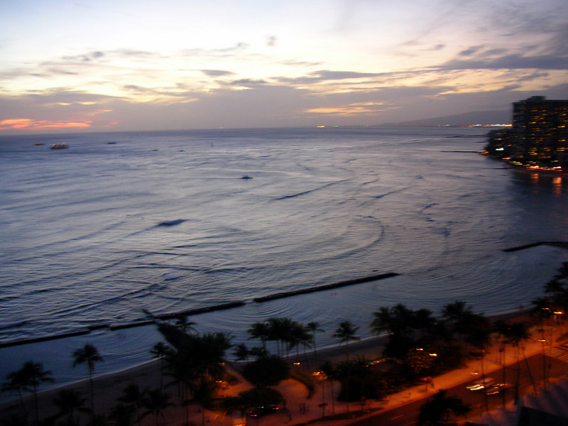 89.  Waikiki Sunset.JPG