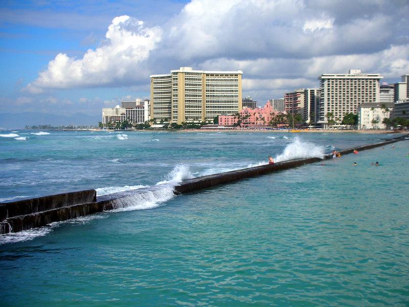 32.  Waikiki Beach Scene.JPG