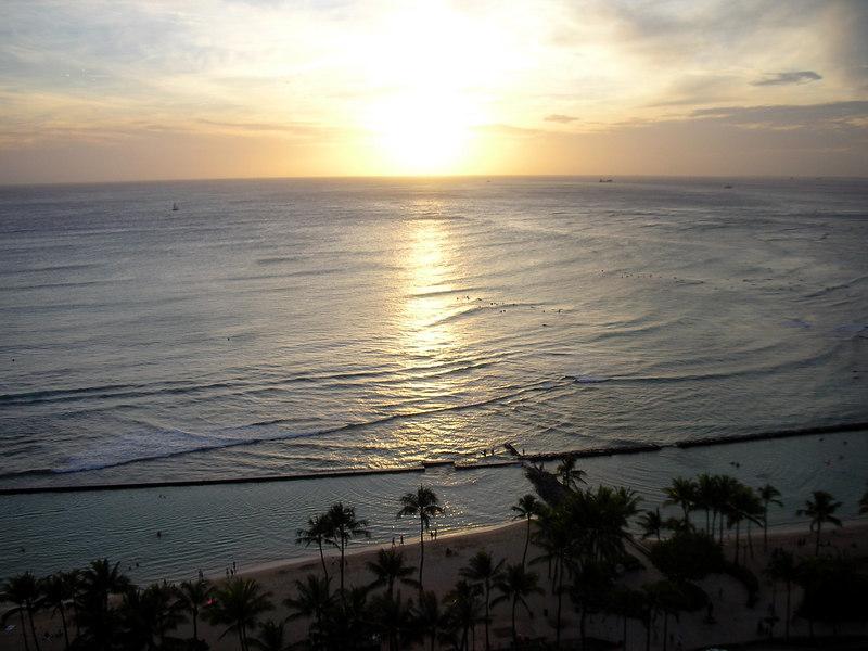 72. Waikiki Sunset.JPG