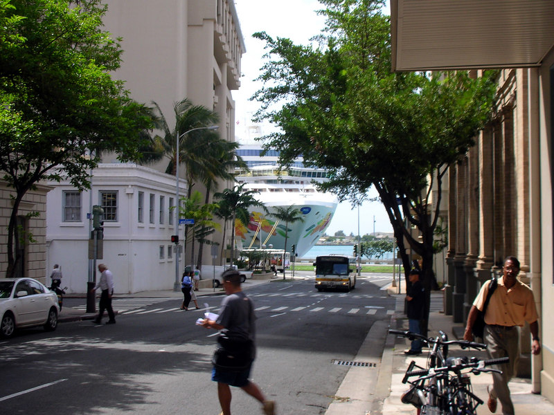 23. NCL Pride of Hawaii from Downtown.JPG