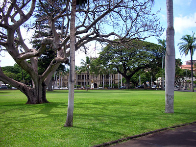 02  King Kamehameha and Government Bldg