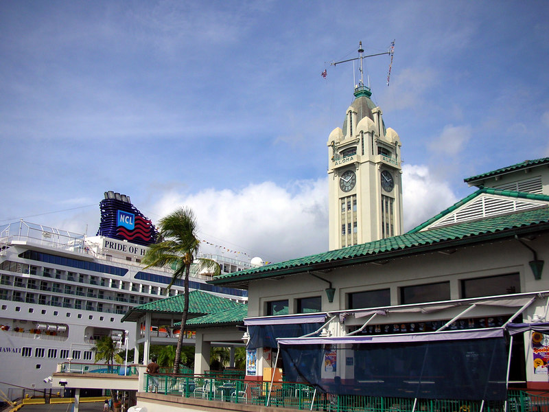 53. Aloha Tower and NCL Pride of Hawaii.JPG