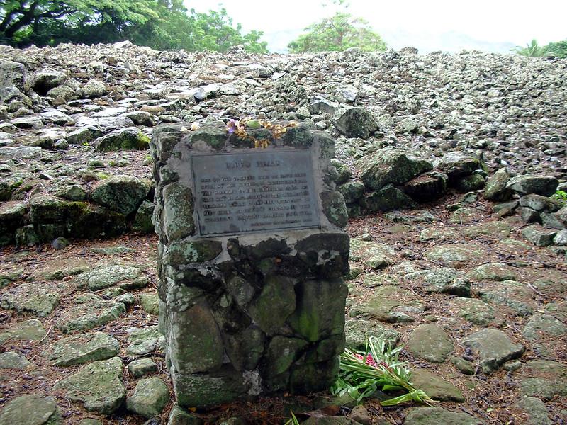 45. Ulupo Heiau Hawaiian Temple.JPG