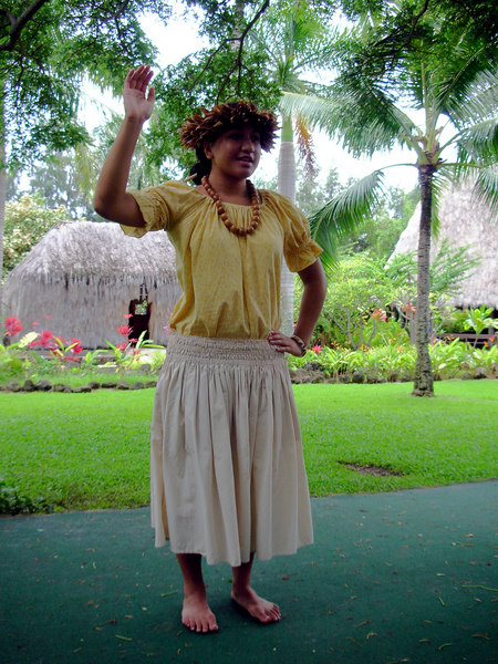 52. Hula Lessons at Polynesian Cultural Center.JPG