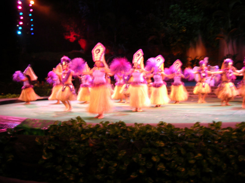 74. Night Show at Polynesian Cultural Center.JPG