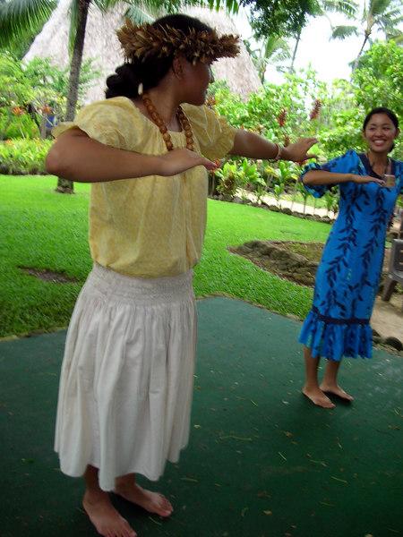 49. Hula Lessons at Polynesian Cultural Center.JPG