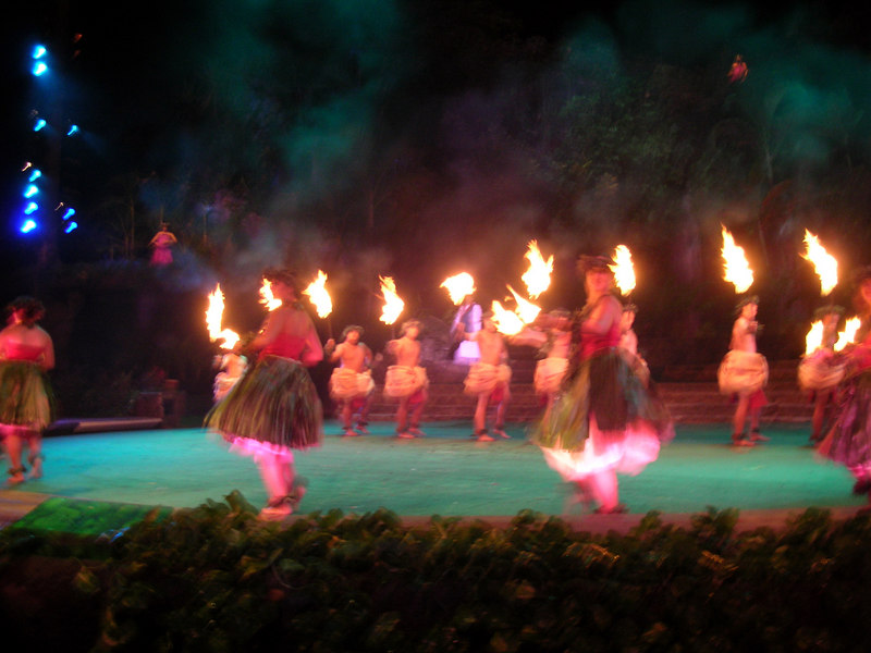 71. Night Show at Polynesian Cultural Center.JPG