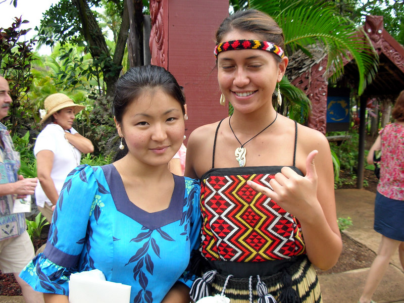 11. My Guide Lilo and New Zealand Girl.JPG
