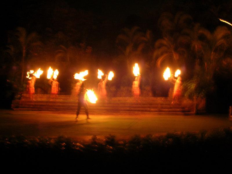 81. Night Show at Polynesian Cultural Center.JPG