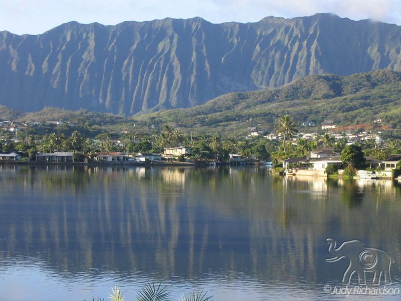 Ko'olau Mountains & Enchanted Lake ~ Kailua, Hawaii