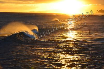 Sunset Wave  orange 071411