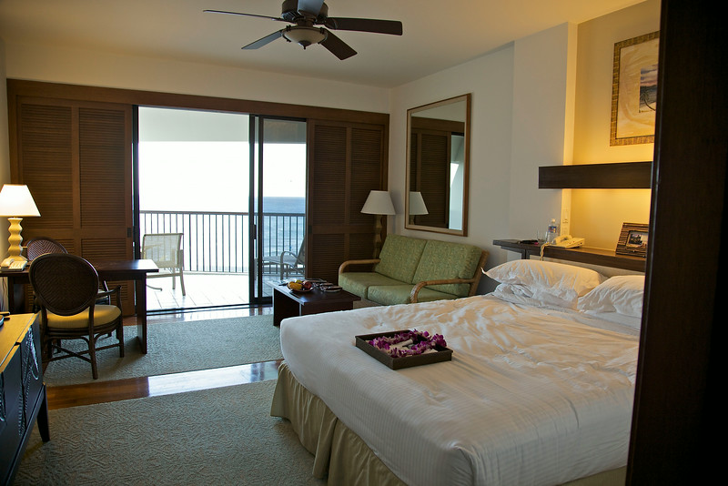 Room in the Mauna Lani Resort Big Island