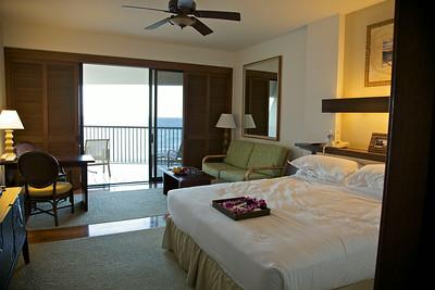 Room in the Mauna Lani Resort Big Island