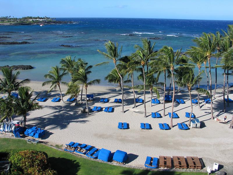 Beach at the Mauna Lani Resort