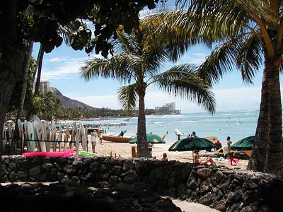 Arrival, Waikiki and Outrigger Waikiki