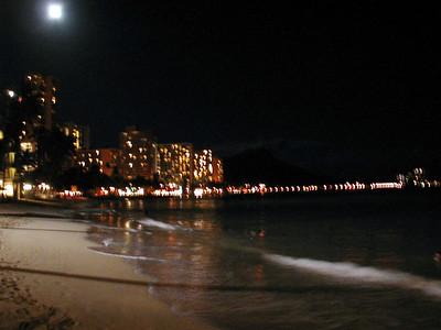 17  Waikiki at Night