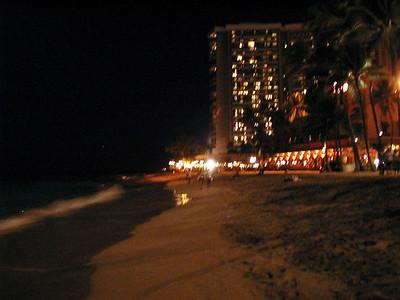 18  Waikiki at Night