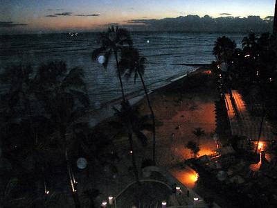 16  Night Balcony View
