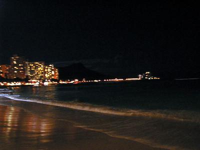20  Waikiki at Night