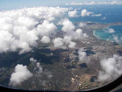 02  Approaching Oahu