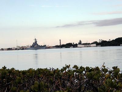 02  Arizonal Memorial and USS Missouri